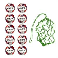 Net of 10 Soft Touch Mitre Impel Training Balls