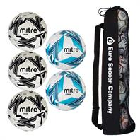 Mitre Match Day Ball Tube Bundle 2 (3 Impel & 2 Max)