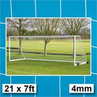 Harrod 4mm Portagoal & Weighted Portagaol Goal Nets (PAIR)(21 x 7ft)