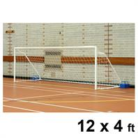 Harrod Fold-away Steel Goal Posts (PAIR) (12 x 4ft)