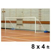 Harrod Fold-away Steel Goal Posts (PAIR) (8 x 4ft)
