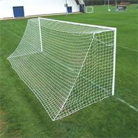 Harrod Heavyweight Socketed Steel 60mm Round Goal Posts (21 x 7ft) (Pair)