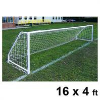 Harrod FS5 Socketed Steel Goal Posts (PAIR) (16 x 4ft)