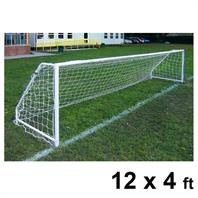 Harrod FS5 Socketed Steel Goal Posts (PAIR) (12 x 4ft)