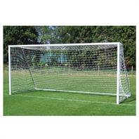 Harrod Folding Freestanding Aluminium Goal Posts (PAIR) (16 x 7ft)