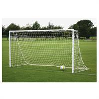 Harrod Heavyweight Socketed Steel Goal Posts (PAIR) (16 x 7ft)