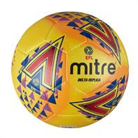Mitre Fluo Delta EFL Replica Football (Sizes 3,4,5)