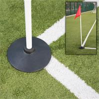Precision Rubber Football Corner Pole Stand (Base Only)