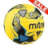 Mitre Ultimatch Fluo Yellow Football (Size 3,4)