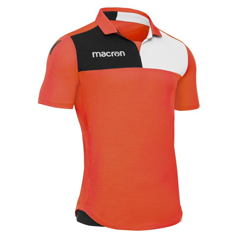Kids Childrens Football Field 100 X 133cm: Macron Nunki Shirt (Short Sleeve)