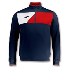 Joma Crew ll Half Zip Jacket - Navy / Red / White / 3XS (SALE)