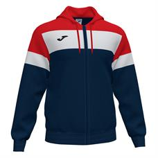 Joma Crew IV Full Zip Hooded Jacket