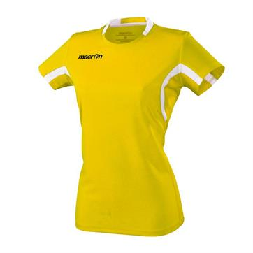 Macron Alkaline Ladies Shirt - Yellow / White