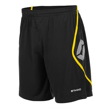 Stanno Pisa Shorts - Black / Yellow