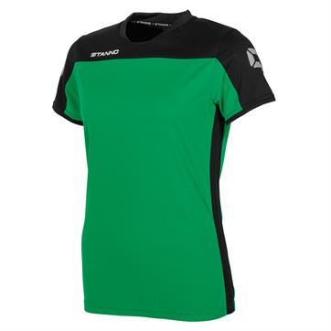 Stanno Pride Ladies Fit Short Sleeve Shirt - Green/Black