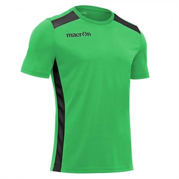 Macron Sirius Shirt (Short Sleeve) - Green / Black