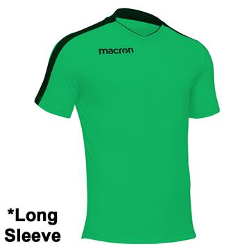 Macron Earth Shirt (Long Sleeve) - Green/Black