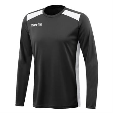 Macron Sirius Shirt (Long Sleeve) - Black / White