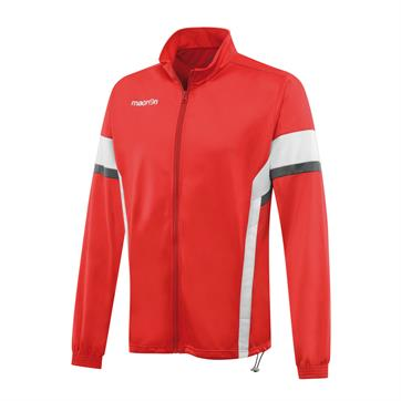 Macron Victory  Brushed Fleece Polyester Top - Red / White