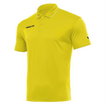 Macron Draco Polo Shirt - Yellow