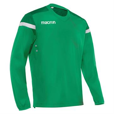 Macron Zurich Overhead Windbreaker - Green/White
