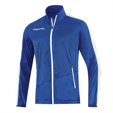 Macron Montreal Full Zip Windbreaker - Blue