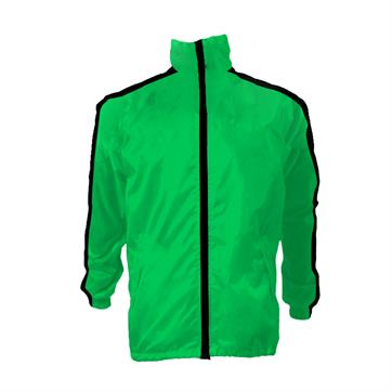 Custom Made Imola Shower Jacket [Choose Your Own Colourway] - Fluo Green / Black
