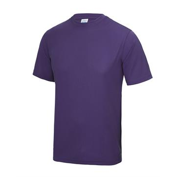 Cool Polyester T-Shirt - Purple
