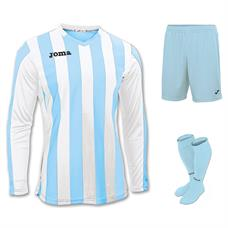 Joma Copa Kit Set - Long Sleeve (Shirt, Short & Socks)