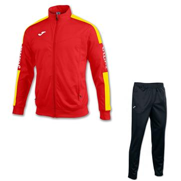 Joma Champion IV Poly Suit - Red / Yellow