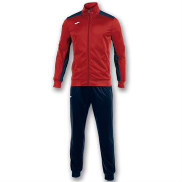 Joma Academy Full Tracksuit - Red/Navy / 3XS (SALE)