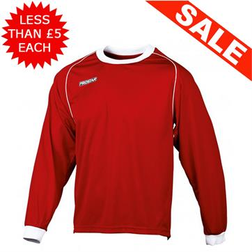 Bundle x 15 Prostar Classic Red Football Shirts (Small)