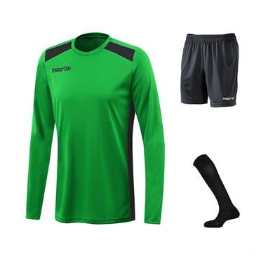 Macron Sirius Full Kit Bundle of 10 (Long Sleeve) - Green/Black