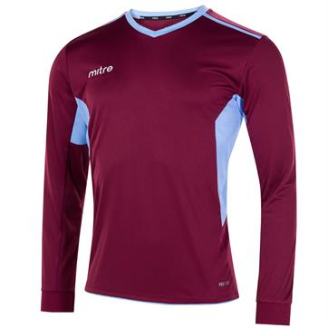 Mitre Diverge Shirt - Maroon/Sky