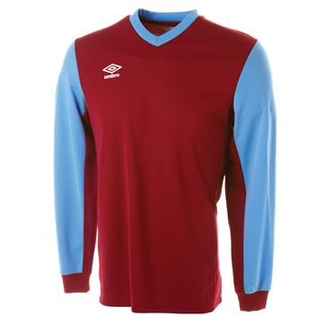 Umbro Witton Long Sleeve Football Shirt