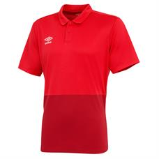 Umbro Pro Training Polo - Red / L (SALE)