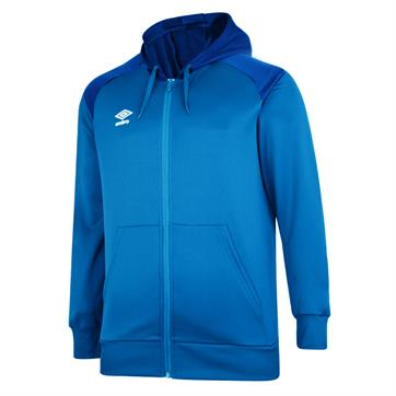 Umbro Pro Club Full Zip Hoody - Royal