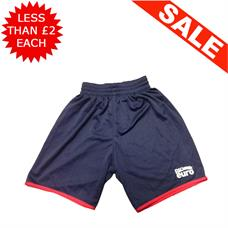 Clearance Football Shorts - Bundle of 11 x Navy / Red (mix)
