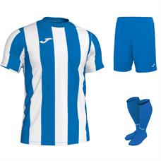 Joma Inter Stripe Short Sleeve Full Kit Set