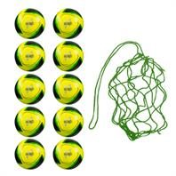 Net of 10 Samba Fluo Infiniti Training Balls