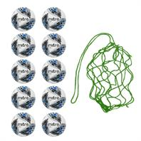Net of 10 Mitre Delta Hyperseam Match Balls (4,5)