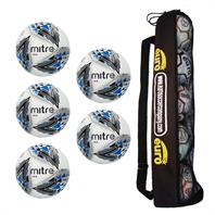 Tube of 5 Mitre Delta Hyperseam Match Balls (4,5)