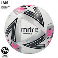 Mitre Ultimatch Plus Hyperseam Match Football (3,4,5)