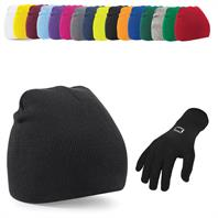 Beanie Hat & Gloves Bundle