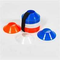 Samba Mini Pro Cones with Carry Strap - Set of 60 Mixed Colours