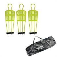 Diamond Club Free Kick Mannequin Set - Bags of 3