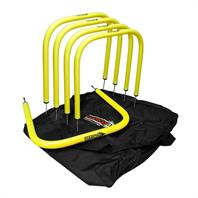 Football Passing Arc Set (5 Outdoor Arcs & Bag)