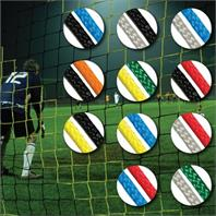 Diamond Continental Coloured Goal Nets for Socketed Goals (PAIR) (24 x 8ft)