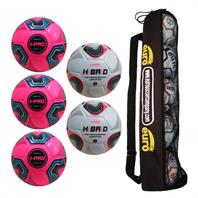 iPro Matchday 1 Football Tube Bundle (3 iPro Nova, 2 iPro Hibrid)