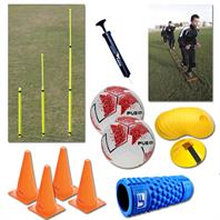 Jack's Pack - Park Football Training Equipment Bundle [Train with your mates!]
